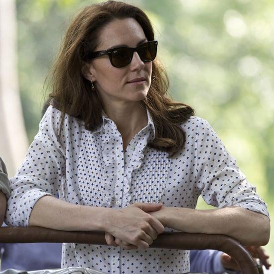 Kate Middleton Wearing Zara Pants in India 2016