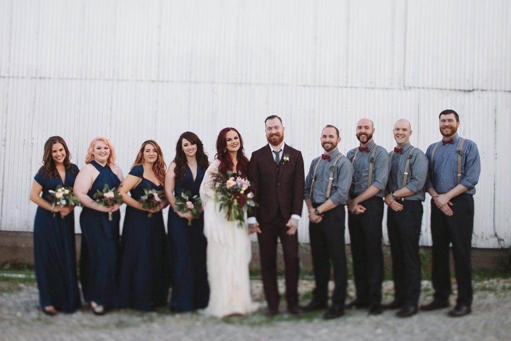 Creepy Vintage Fall Wedding