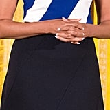 Michelle Obama's Narciso Rodriguez Top and Skirt June 2016