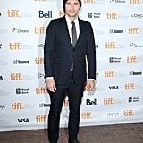 James Franco covered up his shaved head at the premiere of The Sound and the Fury.