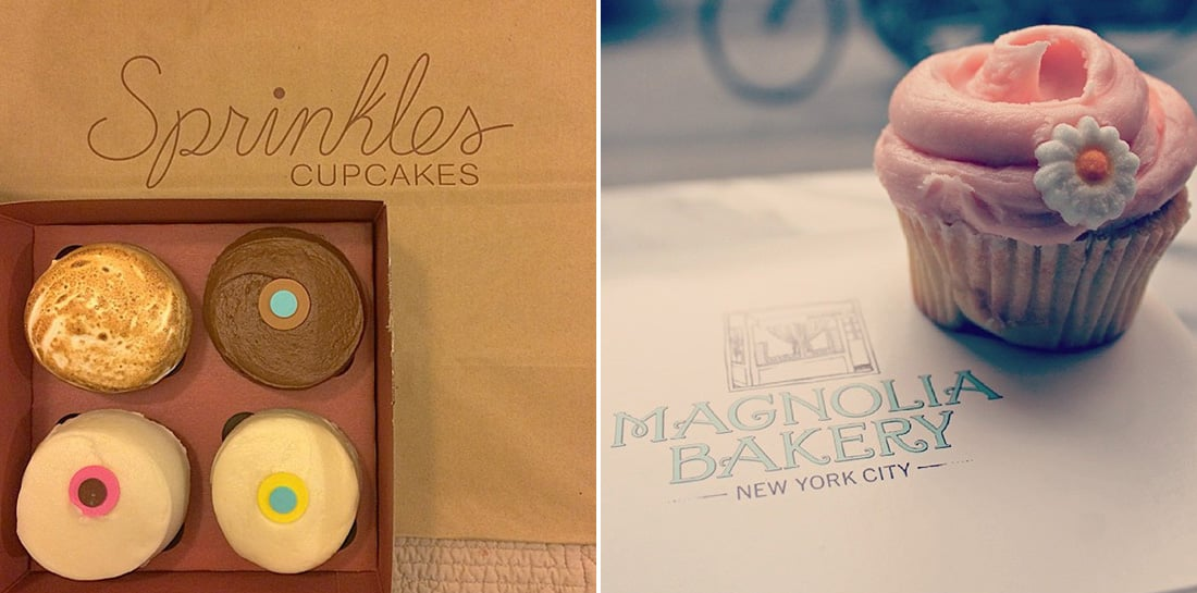 Sprinkles Cupcakes vs. Magnolia Bakery