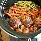 Slow-Cooker Honey-Garlic Chicken and Vegetables