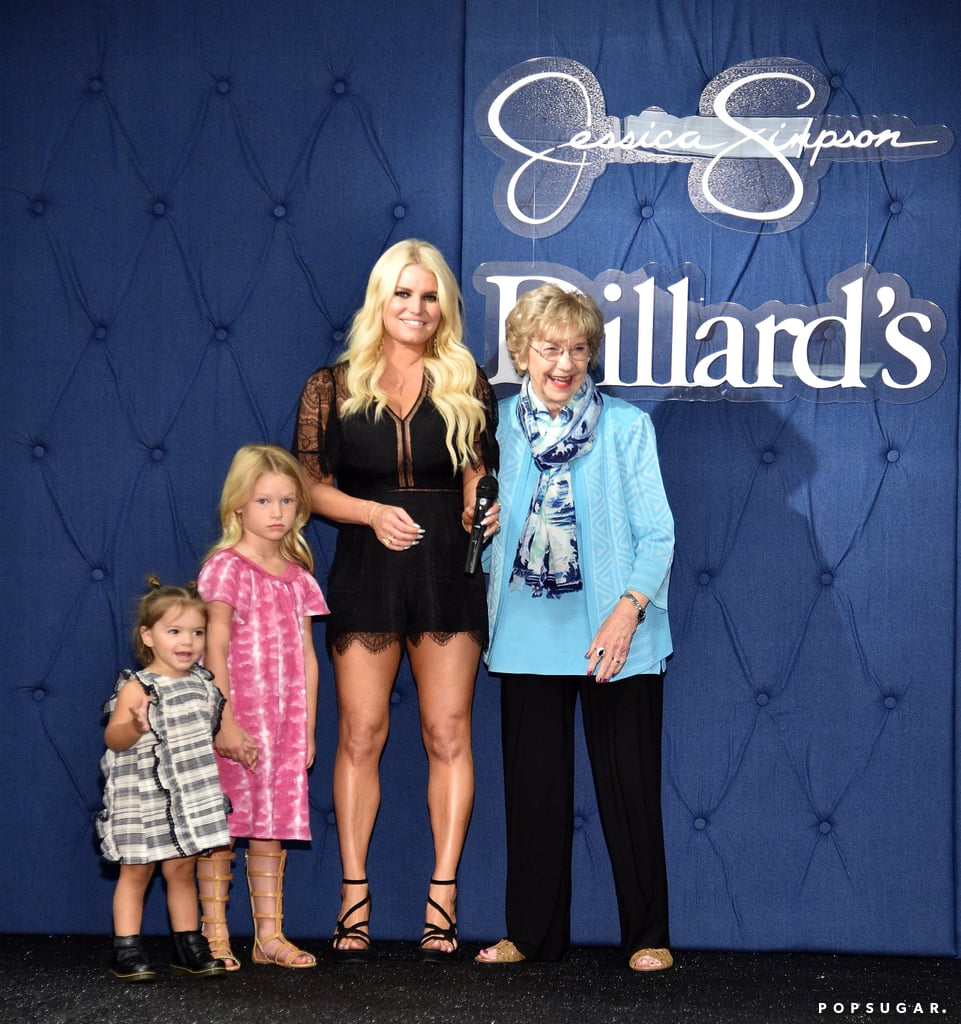 Jessica Simpson and Family on Red Carpet May 2017