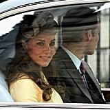 Kate Middleton rode with Prince William to the Thistle Ceremony in Scotland.