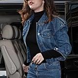 Selena Gomez's Shag Haircut and Bangs Photos