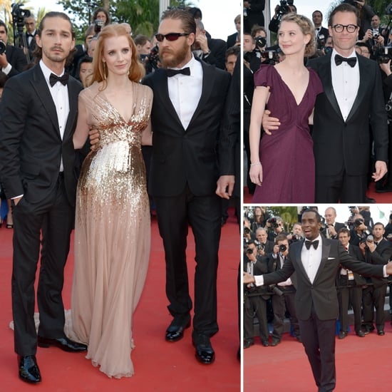 Lawless Premiere Pictures at Cannes