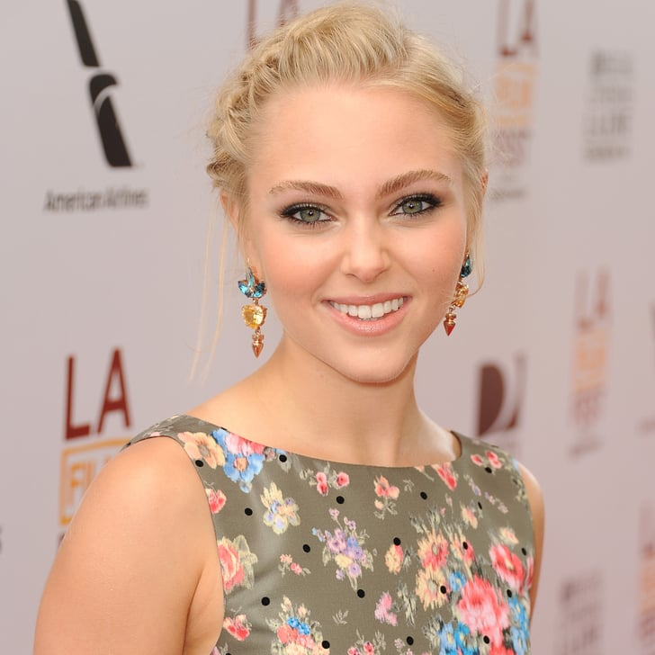 AnnaSophia Robb Braided Hair | Pictures | POPSUGAR Beauty