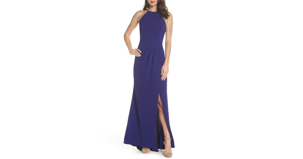 Xscape High Neck Gown   Best Bridesmaid Dresses at Nordstrom ...