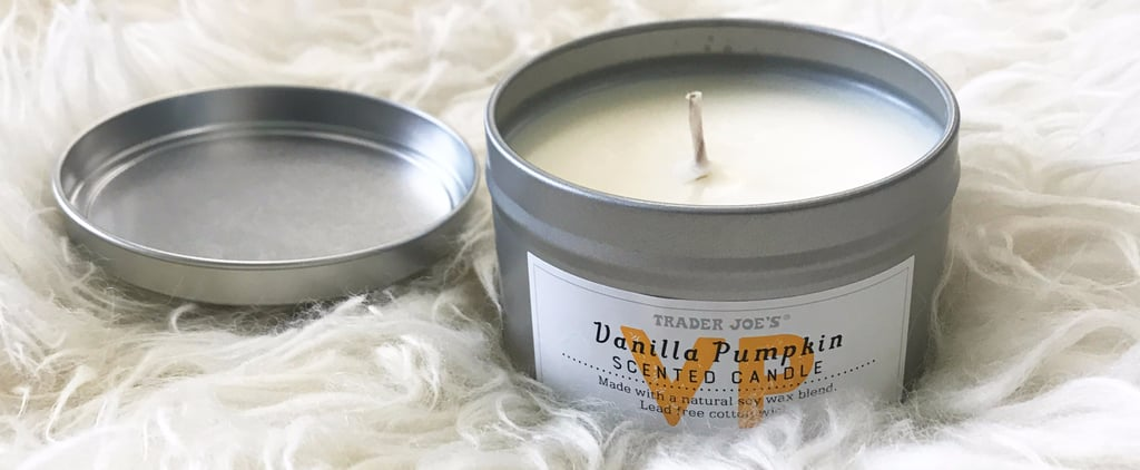 Trader Joe's Vanilla Pumpkin Candle