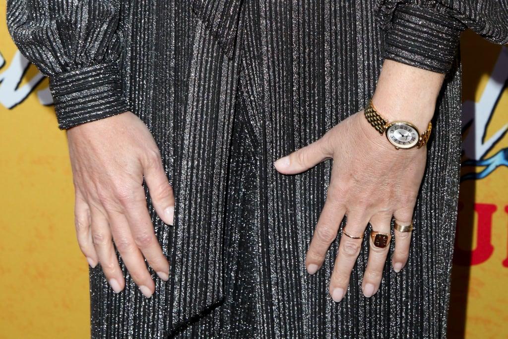 Gwyneth Paltrow Gold Wedding Band