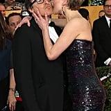 Jennifer kissed David O. Russell.