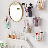 Acrylic Toiletries Wall Pocket