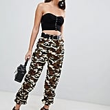 Prettylittlething Cargo Pants in Camo