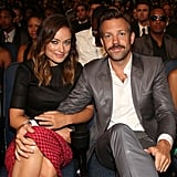 Olivia Wilde and Jason Sudeikis showed sweet PDA at the ESPY Awards in LA in July 2013.