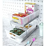 Madesmart 2-Tier Organizers With Dividers