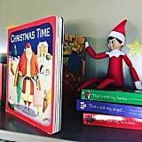 Set him up with a Christmas book.