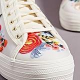 Keds Embroidered Platform Sneakers