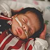 NICU Babies Dressed For the 4th of July