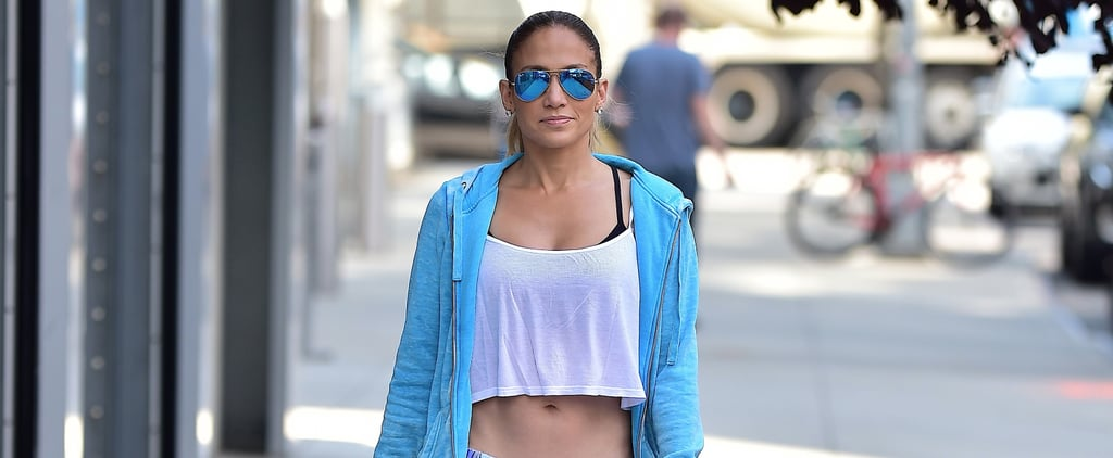 17 Times Jennifer Lopez Rocked Workout Gear That'll Make You Want to Hit the Gym