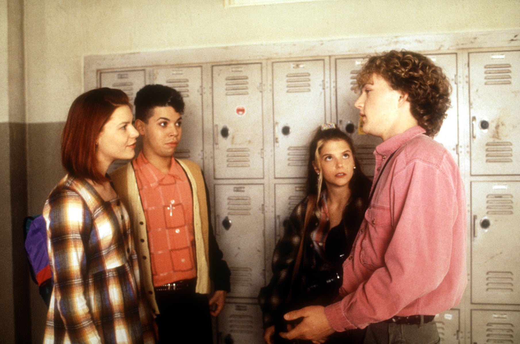MY SO-CALLED LIFE, Claire Danes, Wilson Cruz, A. J. Langer, Devon Gummersall, 1994-1995.  ABC / Courtesy: Everett Collection