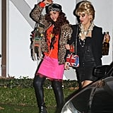 Jessica Alba and a Friend as Eddy and Patsy From Absolutely Fabulous