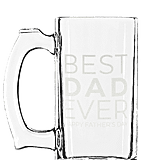 Best Dad Ever Customized Beer Mug