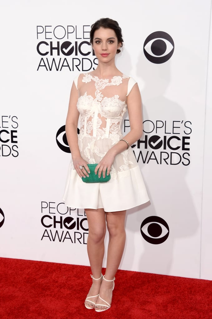Adelaide Kane Weight adelaide kane at the people's choice awards 2014 | people's choice