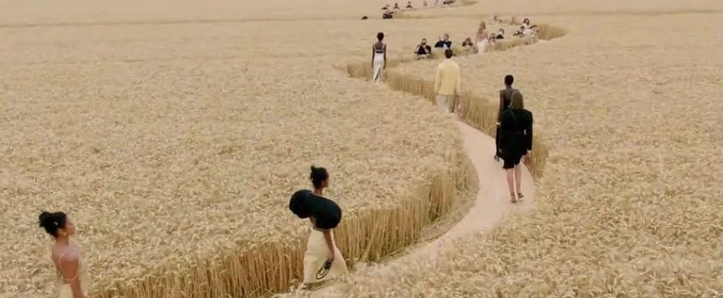 Jacquemus's Spring/Summer 2021 Show Was in a Wheat Field