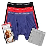 Calvin Klein 3-Pack Classic Boxers ($43)