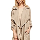 Milumia Waterfall Trench Coat