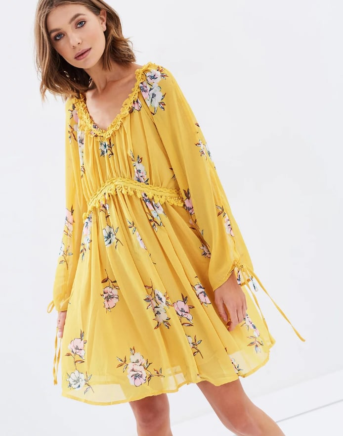 Moon River Free Flowing Mini Dress, $139.95
