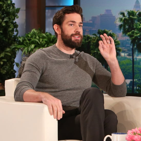 John Krasinski on The Ellen DeGeneres Show January 2016