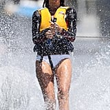 Elle Macpherson Loves Water Sports!