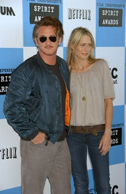 Sean Penn and Robin Wright Penn Split