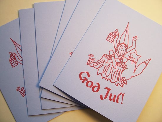 Holiday Card Guide:  Swedish Greetings