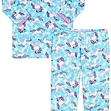 Esme Unicorn-Print Cotton-Blend Jersey Pajamas