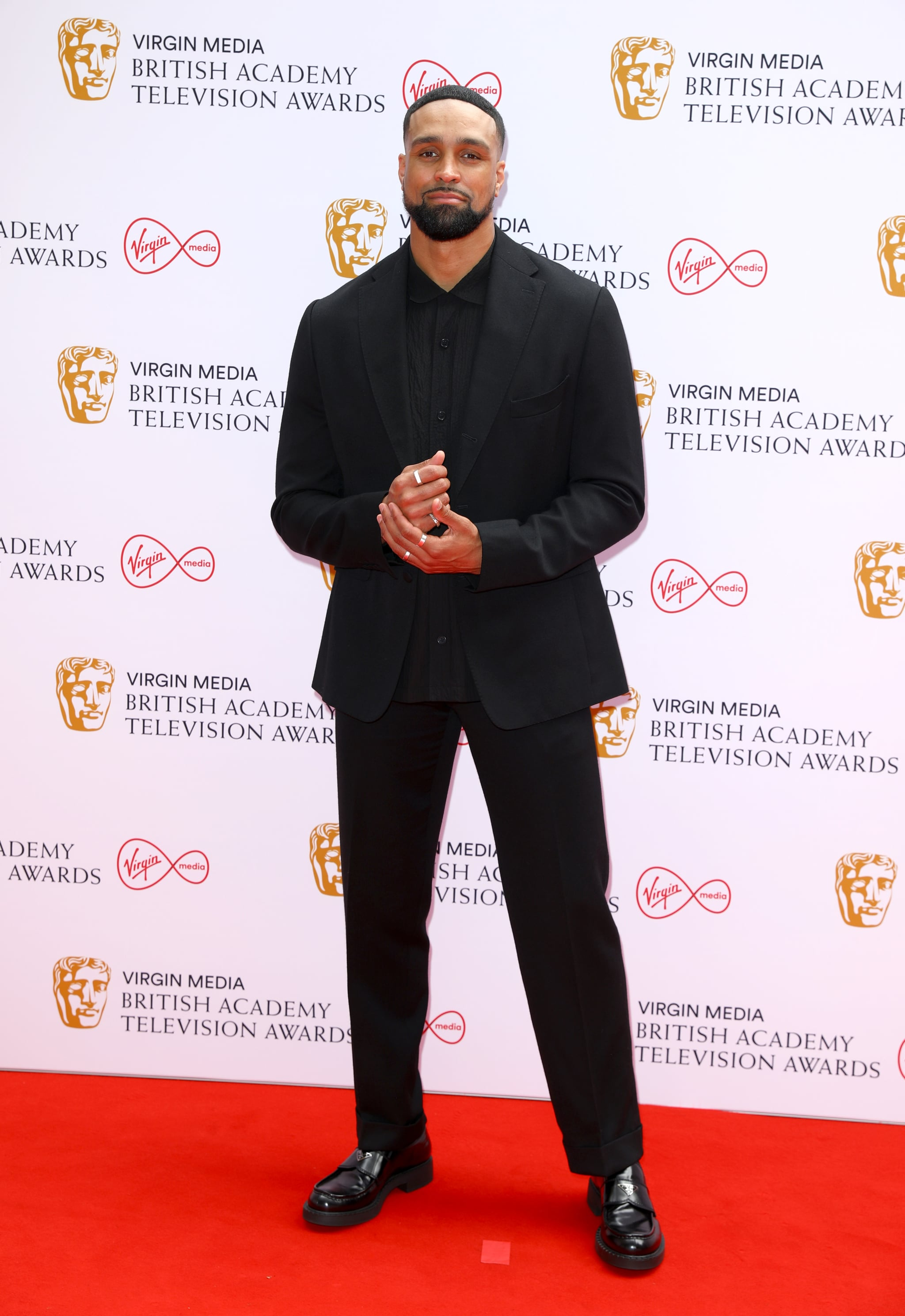 LONDON, ENGLAND - JUNE 06: Ashley Banjo attends the Virgin Media British Academy Television Awards 2021 at Television Centre on June 06, 2021 in London, England. (Photo by Tim P. Whitby/Getty Images)