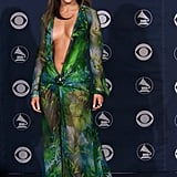Jennifer's Iconic Versace Dress at the 2000 Grammy Awards