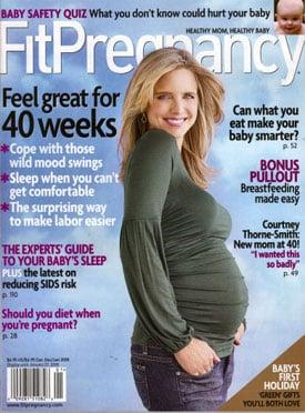 Courtney Thorne-Smith's Fit Pregnancy