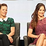 The Almost Human panel at the Summer TCA Press Tour featured Lili Taylor and Minka Kelly.