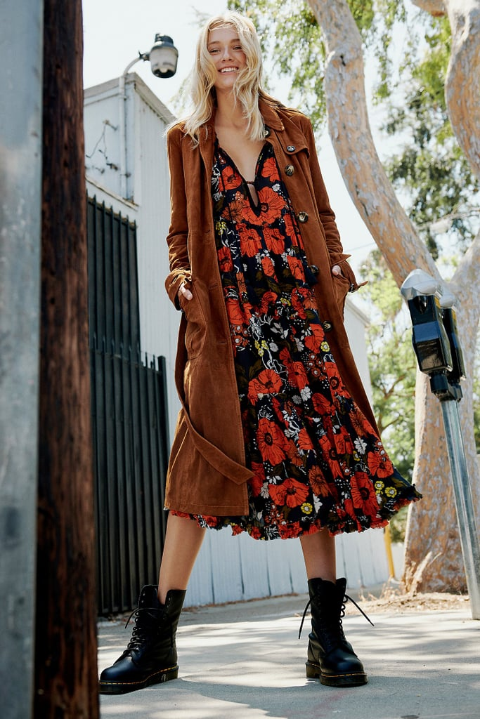 Free People In the Moment Printed Dress