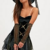 PrettyLittleThing Sexy Witch Fancy Dress Costume