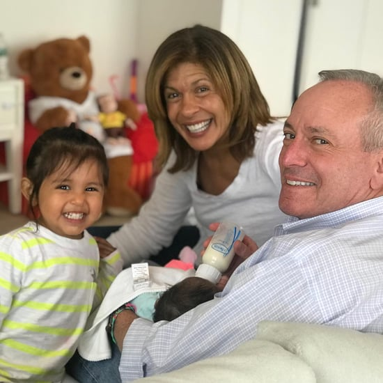 Hoda Kotb First Family Photo With Hope Catherine