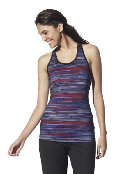 All of the cool colors in this Champion Women's Long Yoga Tank Print ($15) make it an easy and welcome addition to your gear.