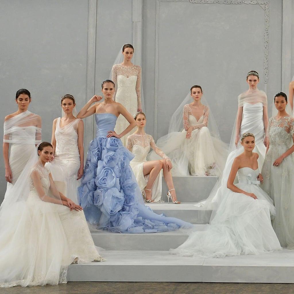 Best Wedding Gowns 2015: Monique Lhuillier Spring 2015 Wedding Dress Pictures