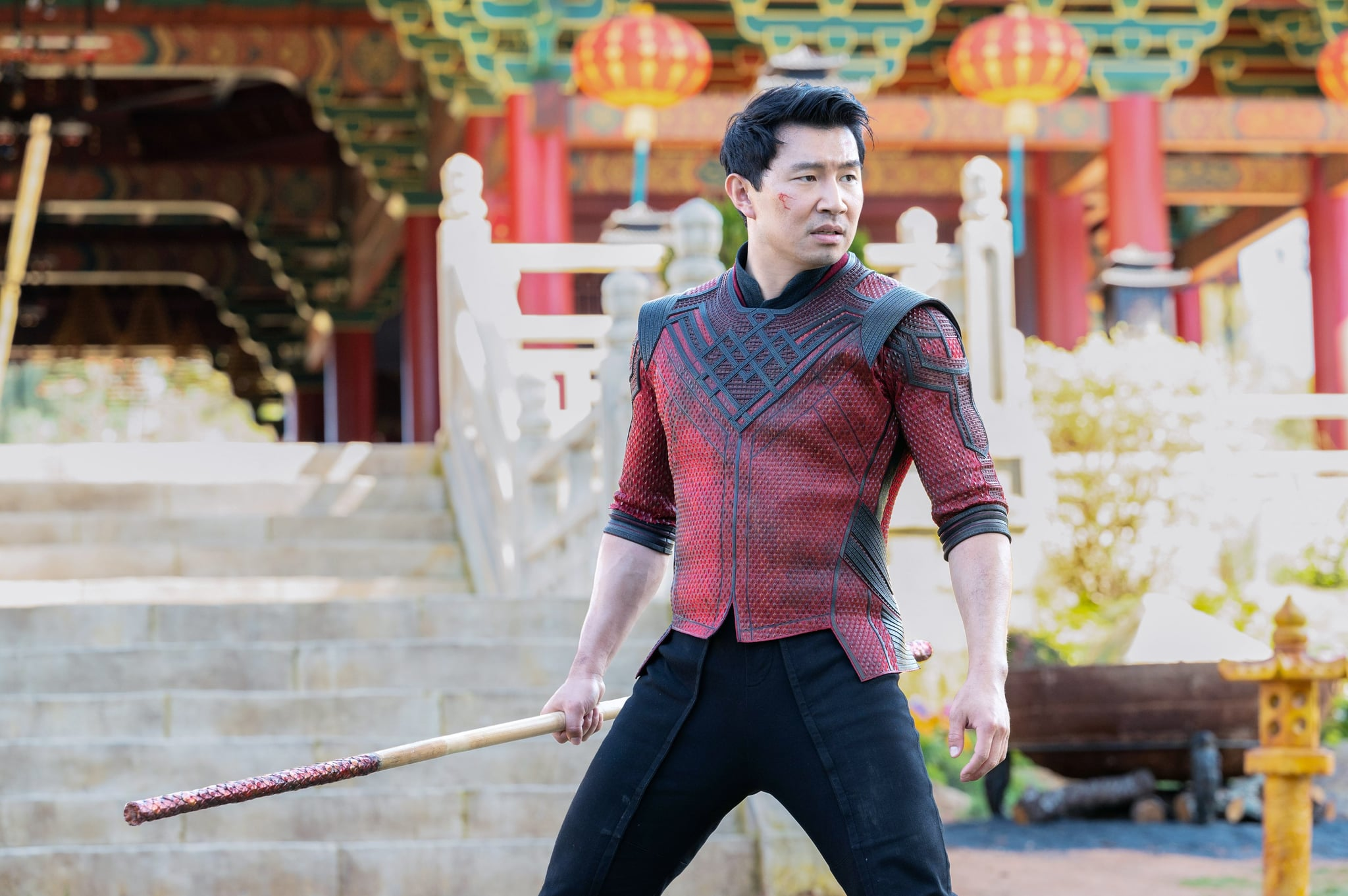 SHANG-CHI AND THE LEGEND OF THE TEN RINGS, Simu Liu, as Shang-Chi, 2021.  ph: Jasin Boland / Walt Disney Studios Motion Pictures /  Marvel Studios / Courtesy Everett Collection
