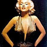 Golden Glamour Marilyn Monroe