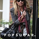 Kate Moss was out and about in London.