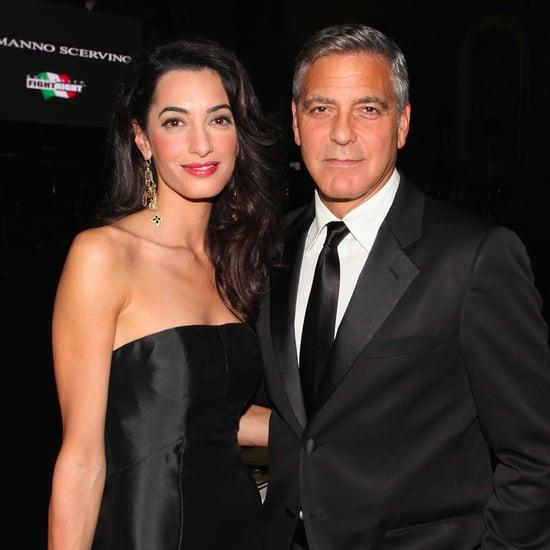 George and Amal Clooney Nursery Decoration