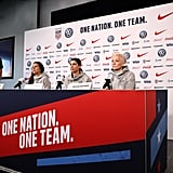 Megan Is a Cocaptain on the US Women's National Team